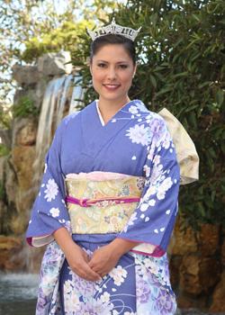 Emily Folick, 2012 Nisei Week Queen