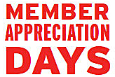 Member Appreciation Days