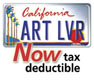 California Arts Council - Art Lover License Plate - Now tax deductible