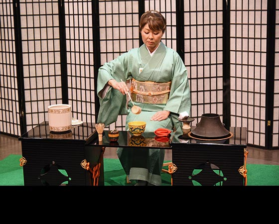 Japanese Tea Ceremony Demonstration