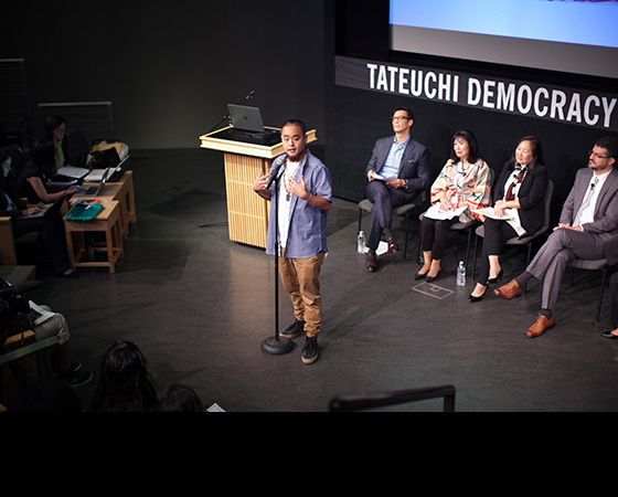 George 'G' Masao Yamazawa, Jr. at the National Youth Summit
