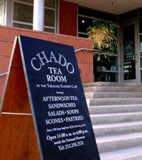 Chado Tea Room Alameda entrance